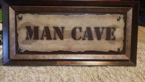 Man Cave wall hanging in Houston, Texas