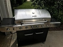 Char-Broil Gas Grill w Side Burner- Stainless Steel in Chicago, Illinois