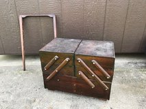 GERMAN SEWING BOX / VINTAGE in Fort Campbell, Kentucky