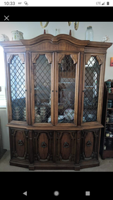 Antique China Hutch in Camp Pendleton, California
