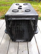 Black pet crate in Spring, Texas