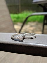 Engagement Ring and Wedding Band set in Fort Benning, Georgia