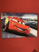 CARS DISNEY  CANVAS PICTURES 33x70 and 40x60 4 Pieces in Stuttgart, GE