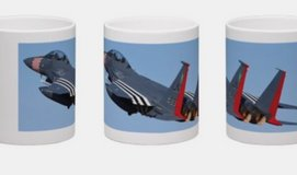 RAF Lakenheath 492nd heritage f-15 mug in Lakenheath, UK