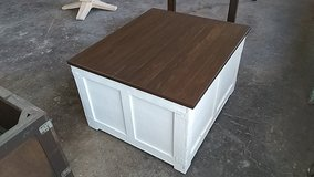 Upcycled reclaimed shipping crate - storage / blanket chest / table / coffee in Joliet, Illinois