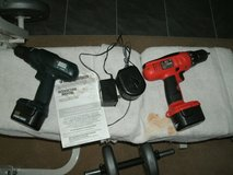 2 Black and Decker 12 volt drills in Orland Park, Illinois
