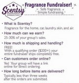 Scentsy  fundraiser in Fort Campbell, Kentucky
