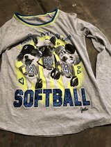"""Justice size 16 """"SOFTBALL """".  Top in Chicago, Illinois"""