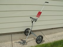 All metal lightweight 2 wheel golf cart in Chicago, Illinois