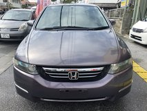 $2900 '03 HONDA ODYSSEY 3 ROWS 7 PASSENGERS COMES WITH NEW JCI AND 1 YR WARRANTY!! in Okinawa, Japan