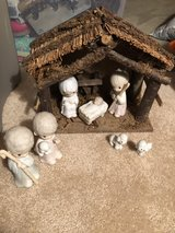 Precious moments nativity in Westmont, Illinois
