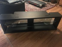 TV Stand w/ Glass Shelves in Travis AFB, California