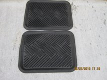 SMALL RUBBER FLOOR MATS in Fort Campbell, Kentucky