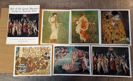 Reproduction of 6 masterpieces on canvas in Wiesbaden, GE