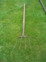 Vintage German Pitchfork in Ramstein, Germany