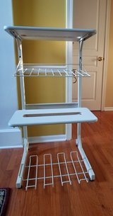 Mobile Rolling Dual Printer Storage Stand, Rack, Cart in Westmont, Illinois