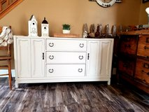 Refinished Buffet / TV Console in New Lenox, Illinois