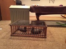 Chicken coop coffee table in Naperville, Illinois