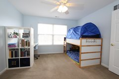 Ikea Bunkbed and Desk with Bookshelves in Westmont, Illinois