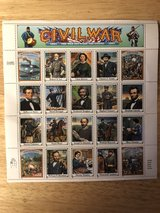 Civil War 32 Cent Stamps From 1994 in Fort Knox, Kentucky