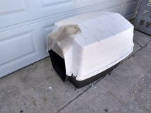 Insulated dog house in Chicago, Illinois
