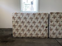 Full Size box Spring and Mattress in Westmont, Illinois