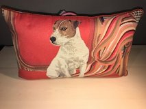 Red Dog Pillow in Kingwood, Texas