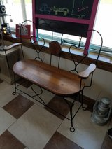 Double Ice Cream Parlor Bench in Fort Leonard Wood, Missouri