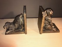 Rustic Puppy Book Ends in Kingwood, Texas