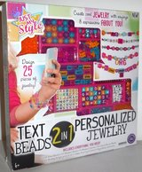 New! Just My Style 2-in-1 Jewelry + Text Beads Kit in Orland Park, Illinois