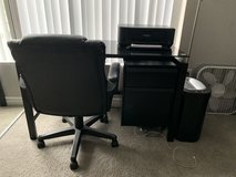 Black Desk w/ Chair in Camp Pendleton, California