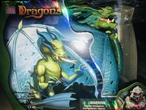 Mega Bloks Plasma Dragons Fangrene Acid Dragon #9409 in Houston, Texas