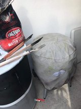 Kingsford Charcoal grill with cover and accessories in Ramstein, Germany