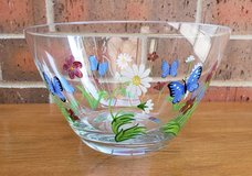 Lenox Butterflies and Blossoms Glass Bowl in Chicago, Illinois
