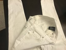 Size 27 White 7 for Mankind jeans in Naperville, Illinois