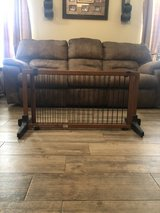Pet gate/large wooden extendable in Bellaire, Texas