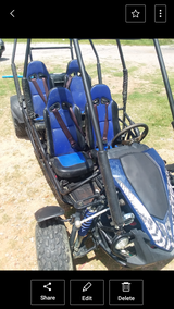 Trailblazer Master 4 seater Go kart automatic drive can you start with reverse in Fort Benning, Georgia