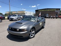 2011 FORD MUSTANG GT CONVERTIBLE V8 5.0 LITER in Fort Campbell, Kentucky