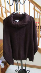 Maroon Tunic Sweater in Algonquin, Illinois
