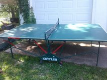 Ping pong table in Fort Leonard Wood, Missouri