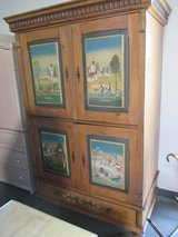 Interesting Armoire with the Four Seasons in Westmont, Illinois