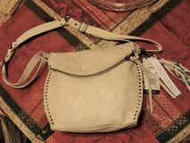 SAK Silver Lake bag satchel purse white ivory floral NWT Leather in El Paso, Texas