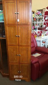 8 Door Corner Cabinet (New) in Fort Leonard Wood, Missouri