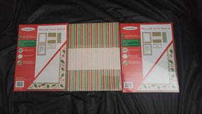 3 Lot of Christmas Staionary Paper in Beaufort, South Carolina