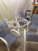 Woodward Patio Set Table and 4 chairs in Houston, Texas