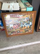 framed puzzle picture in Conroe, Texas
