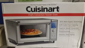 Cuisinart Chef's Convection Toaster Oven New in Box in El Paso, Texas