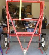 Haul Master Foldable Trailer: 1,195 Lbs (Never Used/ All Parts & Documents) in Hemet, California
