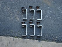SIX MOUNTING CLAMPS FOR TRUCK CAMPER TOPS. in Batavia, Illinois