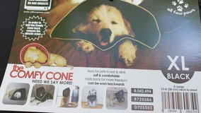 All Four Paws Comfy Cone Dog Collar XL - Black in Lockport, Illinois